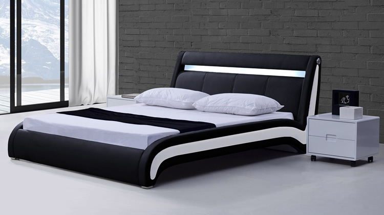 tete de lit avec eclairage integre 26 toulon. Black Bedroom Furniture Sets. Home Design Ideas